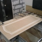 заготовка фасада из МДФ сделанная на станке с ЧПУ
