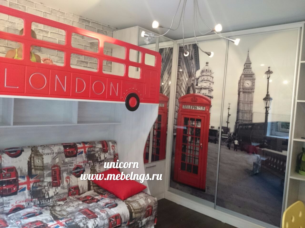 дизайн детской Лондон