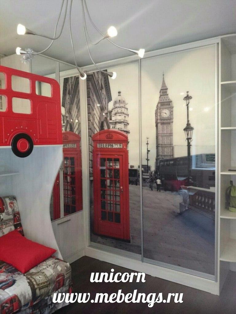 двери с фотопечатью Лондон