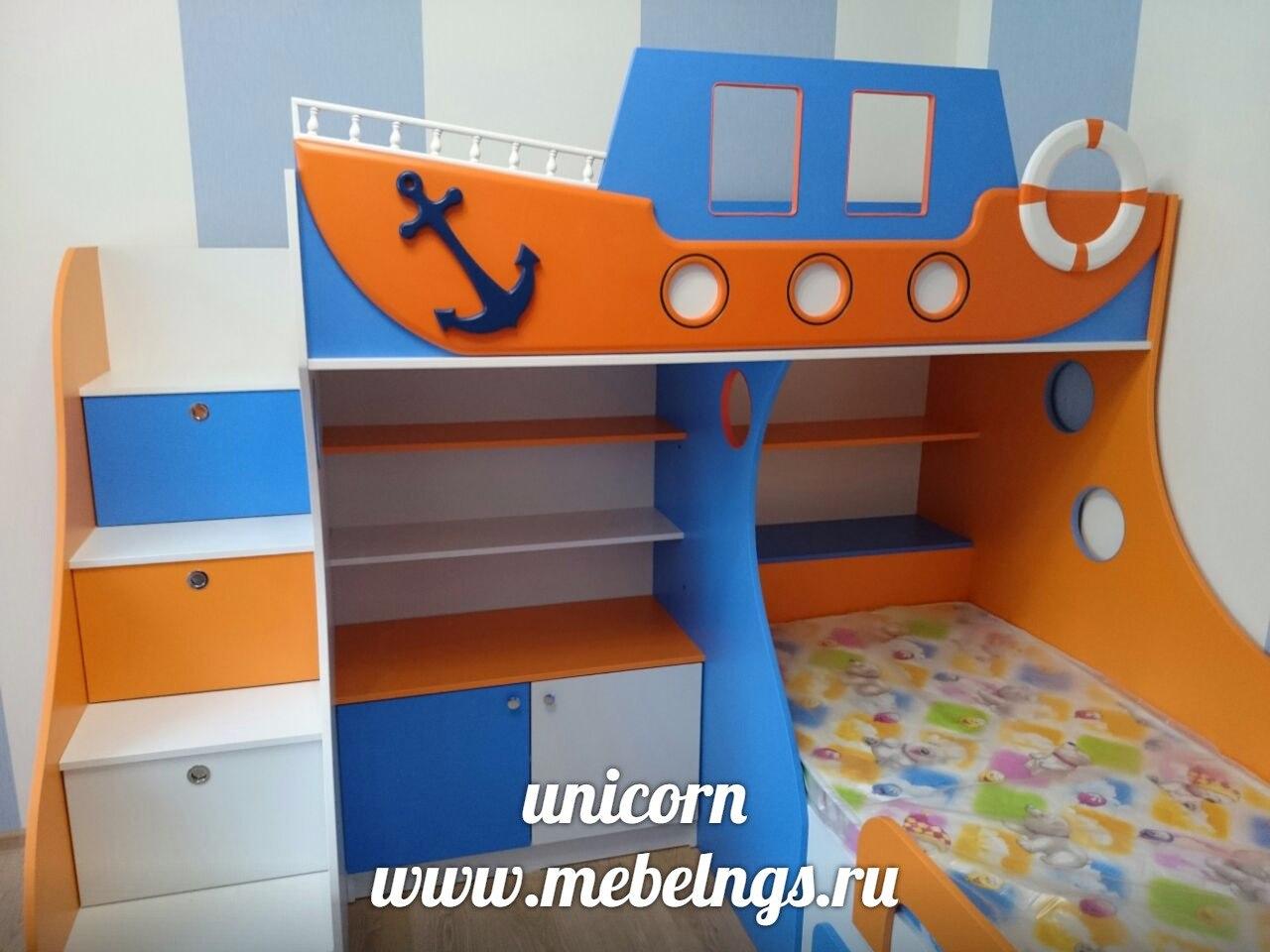 детская в морском стиле