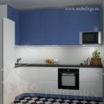 3Д проект кухонного гарнитура