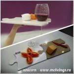 разделочная доска-пазл искусственный акриловый камень аксессуар для кухни
