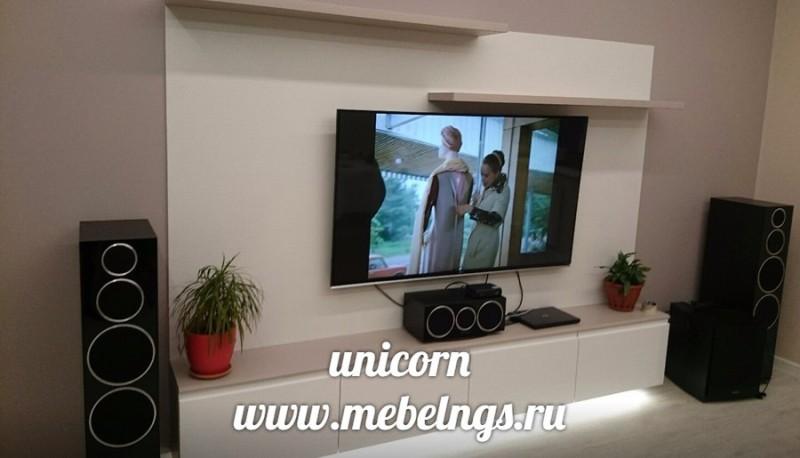 тумба подвесная под телевизор